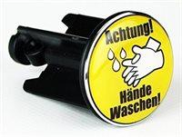 ROMITO® Abfuss-Stöpsel - Achtung Hände Waschen!