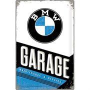 Nostalgic-Art Blechschild 40x60 cm - BMW - Garag